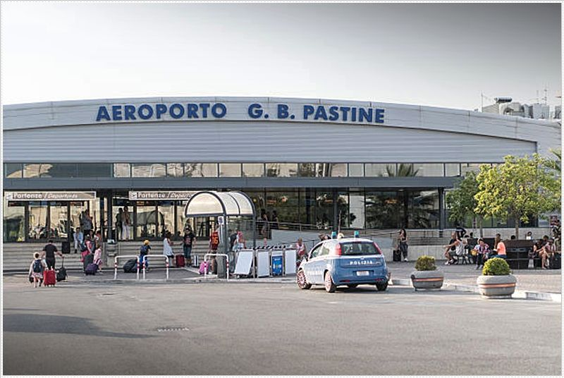 Ciampino airport. Ciampino deals with pretty much solely low-cost and charter flights.