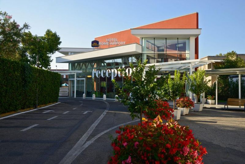 Rome International Airport Hotel. Best Western Hotel Rome Airport