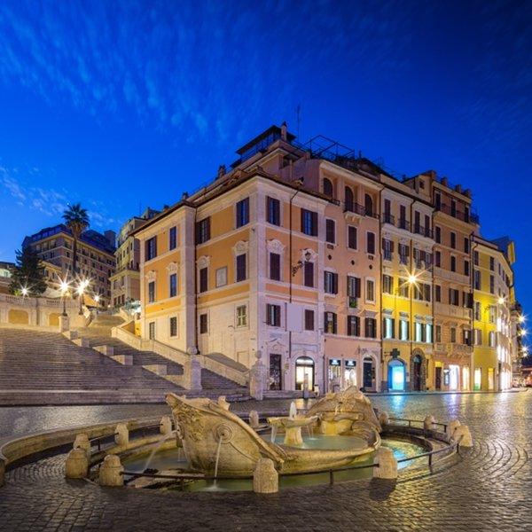 Spanish Steps History. If you are an art lover, you could also visit the Casa Museo Giorgio De Chirico in the seventeenth-century Palazzetto del Borgognoni at 31 Piazza di Spagna. #spanishstepsrome
