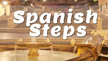 Piazza di Spagna is famous throughout the world for its spectacular stairway of 135 steps #spanishsteps