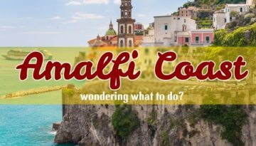 Amalfi Coast Italy is a fantastic holiday destination ideal for a honeymoon, family getaway, or to see unique Italian panoramas.