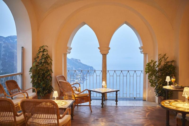 Belmond Hotel Caruso. Perched on a sea-view cliff on the Amalfi Coast, Belmond Hotel Caruso is set in a renovated building of the 11th century.