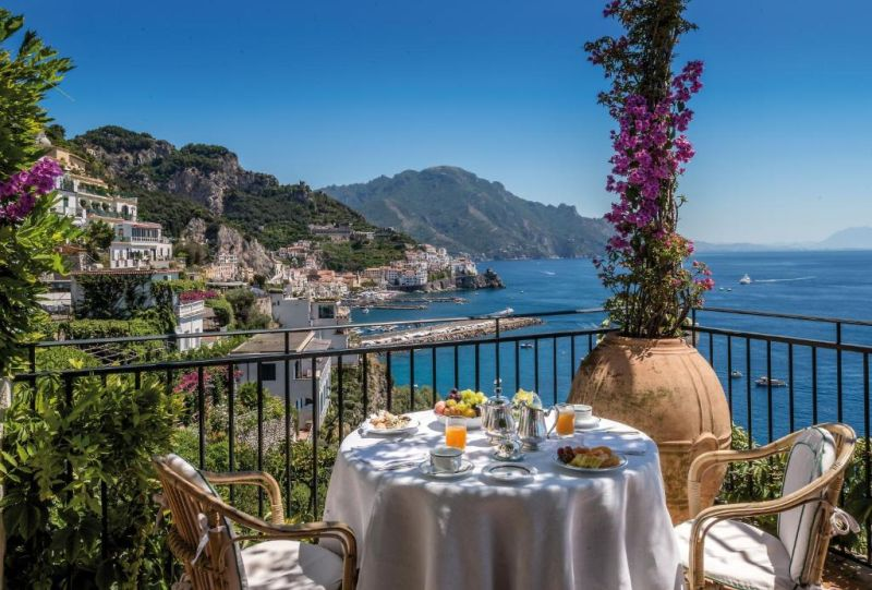 Hotel Santa Caterina Amalfi. Belonging to the same family for a long time, this is yet another of the coast's revered hotels, shaped into multiple levels of a cliff.