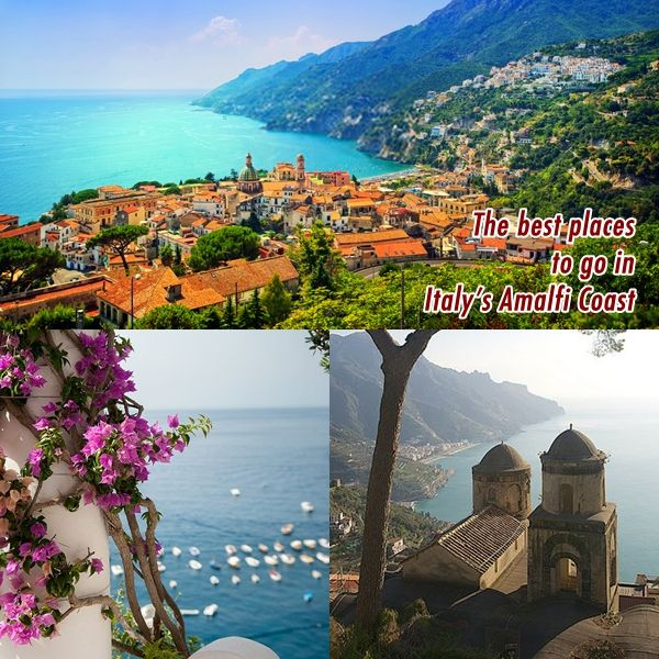 Planning an ideal visit to the Amalfi Coast, Sorrento, Capri, Positano, Ravello.