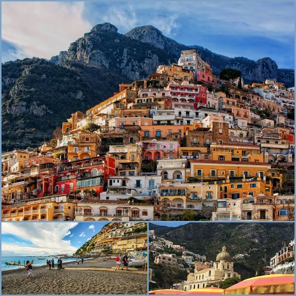 Positano in the Amalfi Coast is known for being both stunning and luxurious.