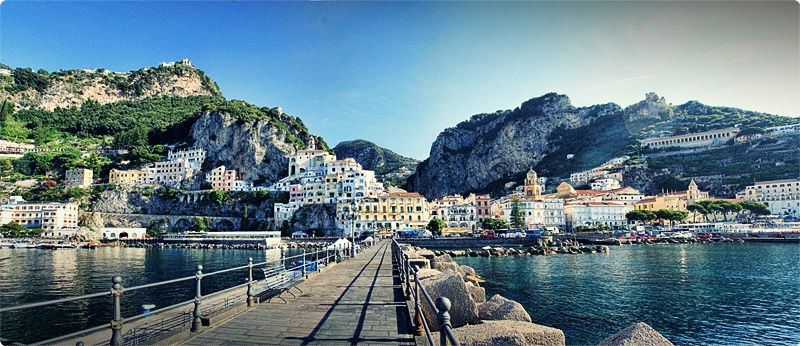 Amalfi town exudes a sense of history and culture, most notably in its breathtaking cathedral and fascinating paper museum.