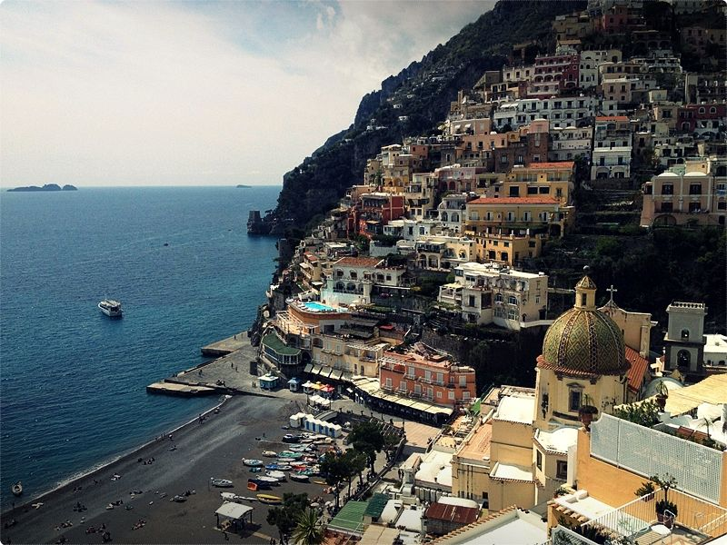 Positano is probably the most famous of the resorts on the Amalfi Coast, celebrated in literature as well as by the millions of visitors who have enjoyed its charms.
