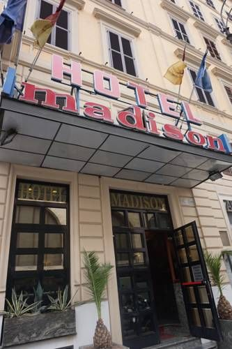 Madison Hotel is directly opposite Rome Termini Station for metro and bus services across the city.