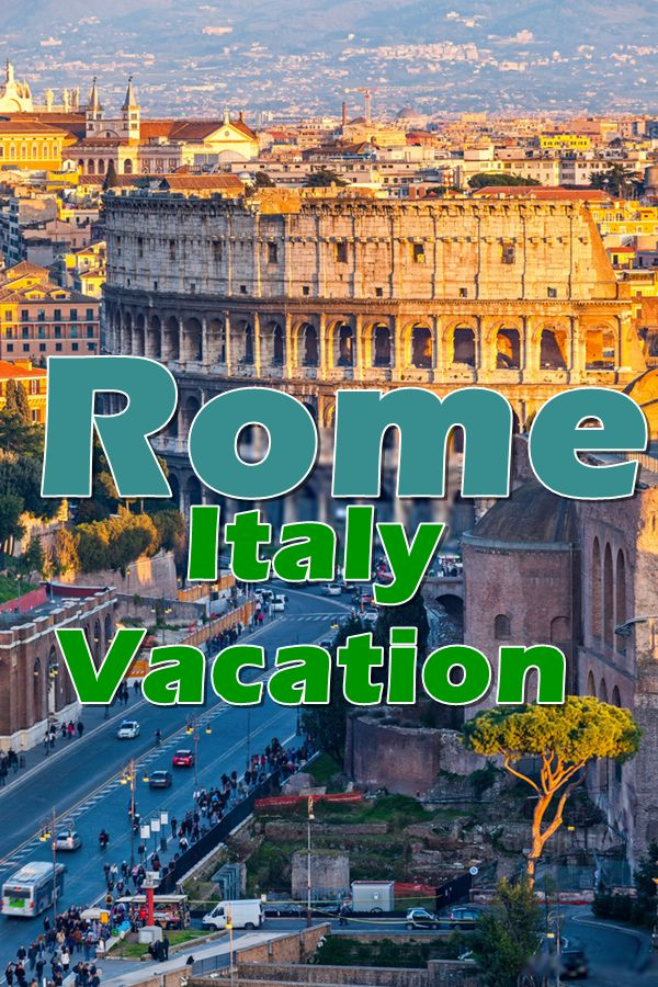 Rome, the Eternal City, a place that has a permanent spot on the top of almost every American's list of world cities to touch at least once in a lifetime.
