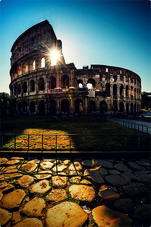 One of the most iconic images of Rome is the Colosseum. Being one of the most visited hotspots in the city means that even today, people travel miles to come and see what is considered one of the greatest works of Roman architecture.